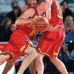 Brett Rainbow Playing Basketball