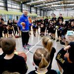 basketball coaching by Brett Rainbow - School holiday basketball camp July 2019