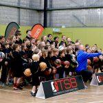 Brett Rainbow Selfie - School holiday basketball camp July 2019