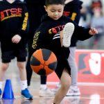 Kid Playing Basketball - School Holiday basketball Camps - July 2019 Image 53